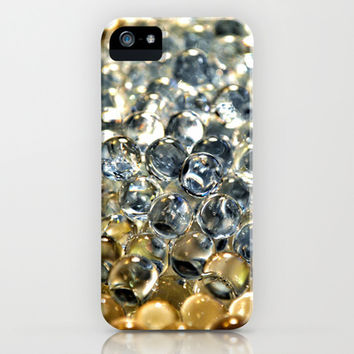 Silver Pearls iPhone & iPod Case by RichCaspian