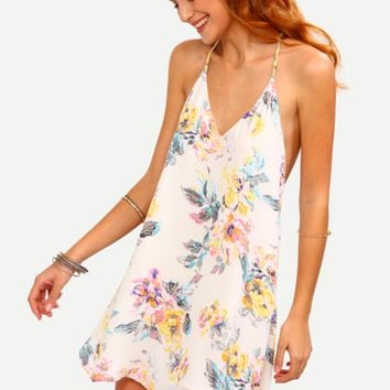 Nancy Floral Swing Dress