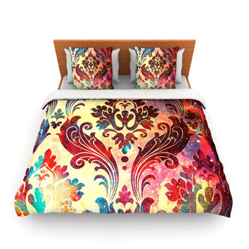 "Caleb Troy ""Galaxy Tapestry"" Queen Fleece Duvet Cover - Outlet Item"