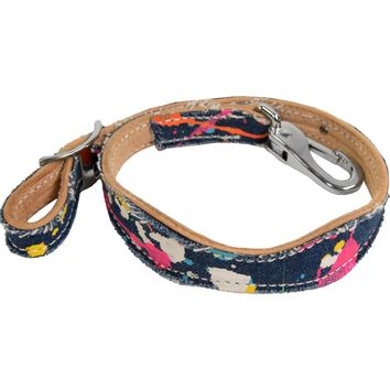 Teskey's Saddle Shop: Fallon Taylor Collection - Cactus Saddlery Splattered Denim Wither Strap