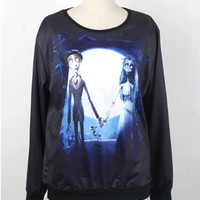Corpse Bride Sweatshirt  Women T-Shirt