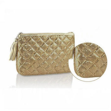 Bridesmaids Clutch, Metal Mesh ClutchPurse, Evening Bag
