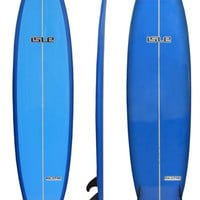 7'2 Isle Funshape E-Core Epoxy Surfboard Blue