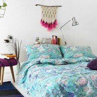 Magical Thinking Marbleized Duvet Cover - Urban Outfitters
