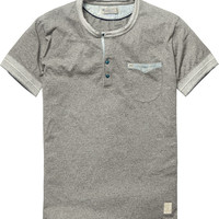 Classic granddad tee - Scotch & Soda
