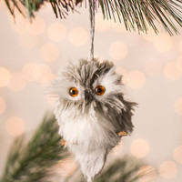 ModCloth Owls And Owl Through the House Ornament