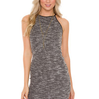 Hensley Dress - Charcoal