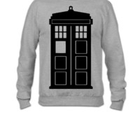 Doctor Who Phone Box - Crewneck Sweatshirt