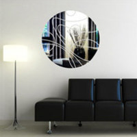Wall Decals Reflective Line Graphic 2- WALLTAT.com Art Without Boundaries