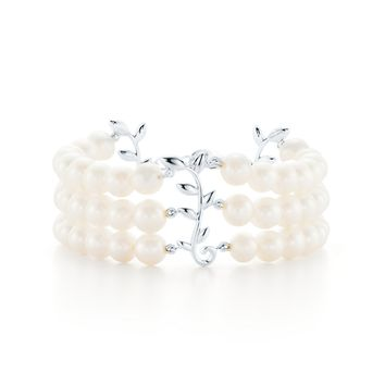 Tiffany & Co. - Paloma Picasso®:Olive Leaf Three-RowBracelet