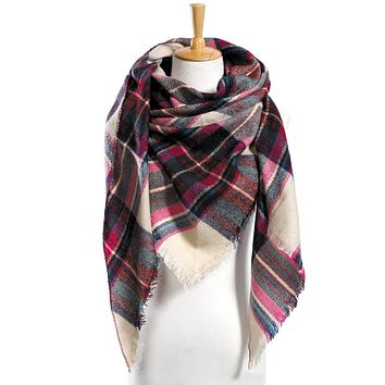 Plaid Scarfs 19 Different Colors
