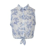 TOILE PRINT JERSEY SHIRT