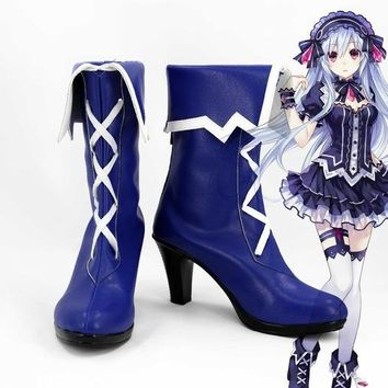 fairy fencer Sword Art online Asuna new Version  circus Costume princess Customize hero knight lolita punk custom shoes boots