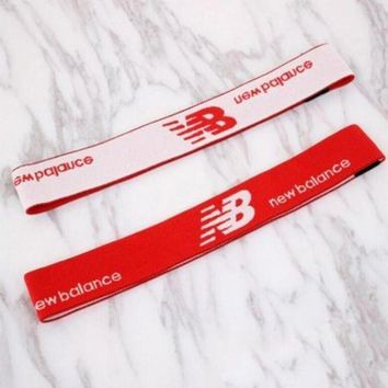 DCCK1IN new balance sport yoga gym motion headband hair hoop red