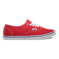 Canvas Authentic Lo Pro | Shop New Arrivals at Vans