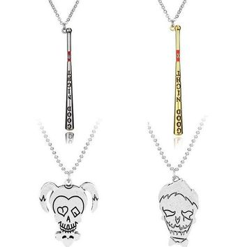 LMFON On Sale Sports Hot Deal Gifts Clown Necklace Accessory Baseball [11621663188]