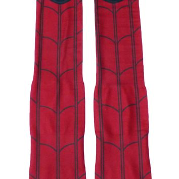 Web Hero All Over Print Knee High Socks