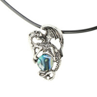 LOVEsick Dragon Marble Necklace