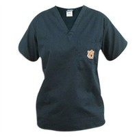 Auburn Scrubs Top Shirt- Auburn Tigers Men Ladies