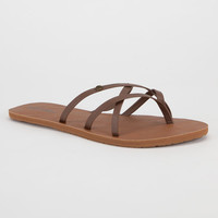 Volcom New School Womens Sandals Brown  In Sizes