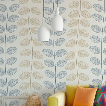 Vine Leaves Wallpaper Pattern