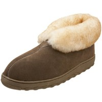Tamarac by Slippers International Men's Highlander Sheepskin Ankle Bootie
