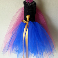 Anna Inspired Tutu- Frozen- Disney princess Inspired