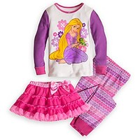 Rapunzel Deluxe PJ Pal and Tutu Set for Girls | Disney Store