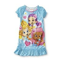 Buy Nickelodeon -Bubble Guppies Infant & Toddler Girl's Nightgown - Molly, Deema, Oona from mygofer.com