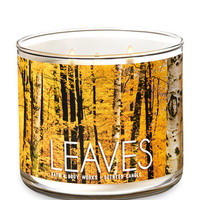 LEAVES3-Wick Candle