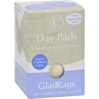 Gladrags Organic Undyed Day Pads - 3 Pack