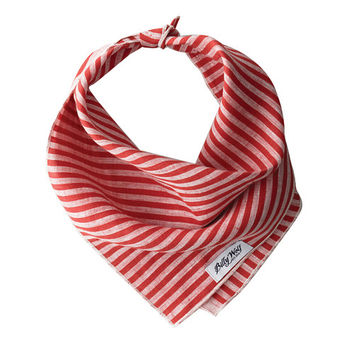 Harper Striped Dog Bandana