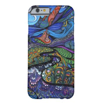 Psychedelic Op Art Landscape Barely There iPhone 6 Case