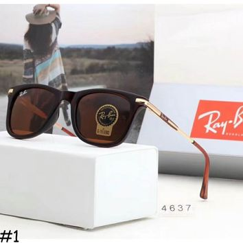 Rayban 2018 men and women with the same paragraph leisure sunglasses F-A-SDYJ #1