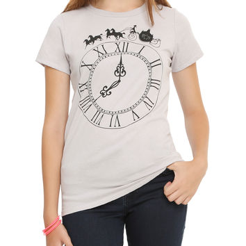 Disney Cinderella Clock Girls T-Shirt
