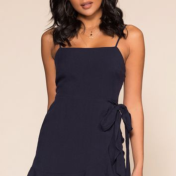 Isabella Dress - Navy