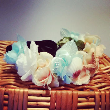 Sea Goddess Floral Crown