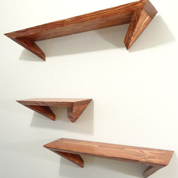 Angle Shelves, Set of 3
