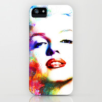 Marilyn Monroe iPhone & iPod Case by Michael Akers