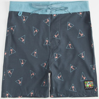 Catch Surf Boardie Trunk Mens Boardshorts Black Combo  In Sizes