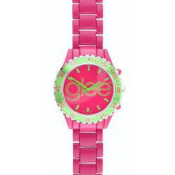 Glee Logo Watch Standard Logo with Pink Band