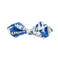 crewcuts Boys Silk Bow Tie In Palm Print