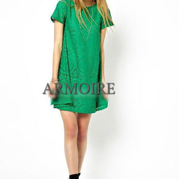 Short Sleeve Spring Tunic