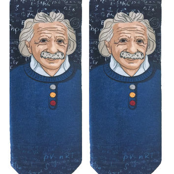 Einstein Ankle Socks