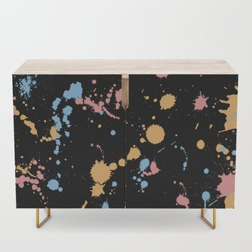 Spatter Credenza by duckyb