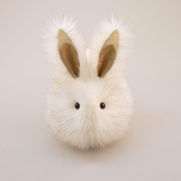 Angel the Cream and Gold Bunny Stuffed Animal Plush Toy