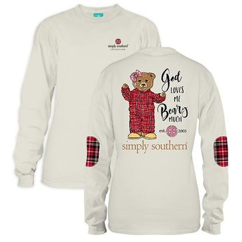 "Youth Simply Southern Long Sleeve - ""Bearly"""