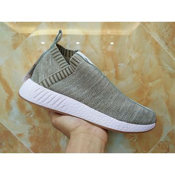 Adidas x Naked x Kith NMD PK CS2 Primeknit BY2597 Sport Running Shoes Classic Casual Shoes Sneakers