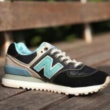 New Balance New Men's and Women's Couples Sports Shoes black