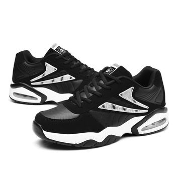 Big Size Sport Shoes Sport Men Women Athletic Shoes Black Red Mens Walking Jogging Sneakers Couples Gym Trainers Brand